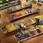 Slimme supermarktverlichting en slim boodschappen