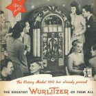 "De Wurlitzer 950 Gazelle ""Victory"" jukebox uit 1942"