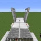 Minecraft: automatische redstone en sticky piston deuren