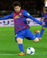Lionel Messi, de meest populaire speler in FIFA 15 / Bron: Christopher Johnson / Wikimedia Commons